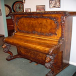 carved piano